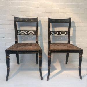 Georgian Painted Chairs