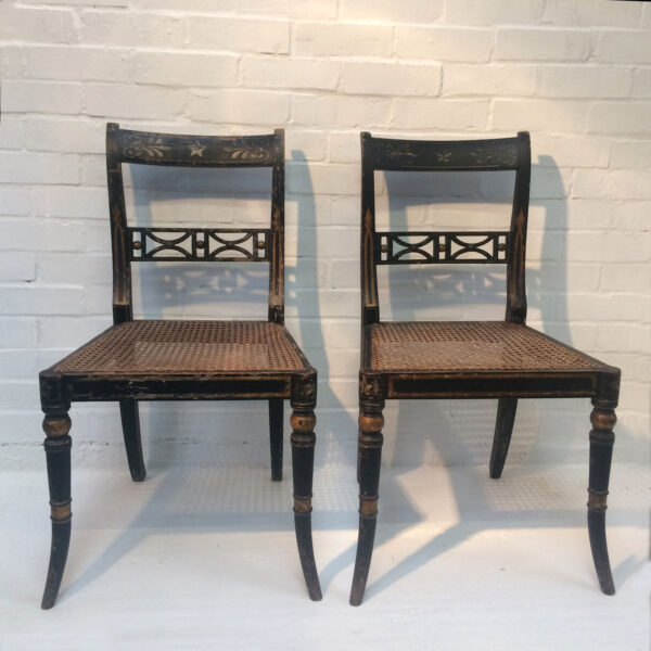 Georgian Painted Chairs