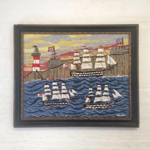 Sailing at Dawn by Colin Millington