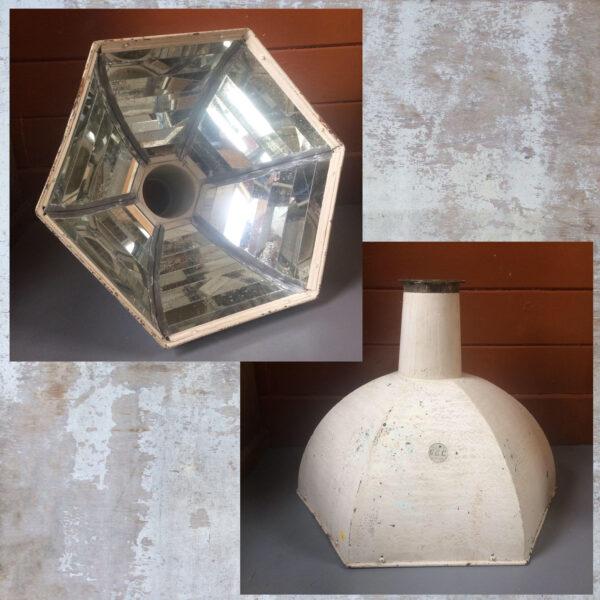 Large GEC Mirrored Pendant Lamp