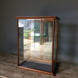 Edwardian Mahogany Display Case