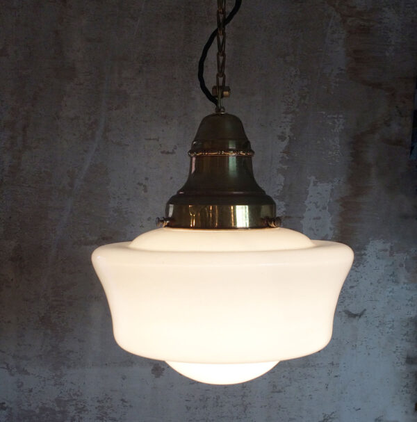 1950's Milk Glass Shade