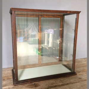Oak Counter Top Display case