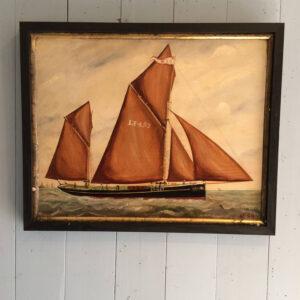 John Gregory 1841-1917 Lowestoft sailing drifter