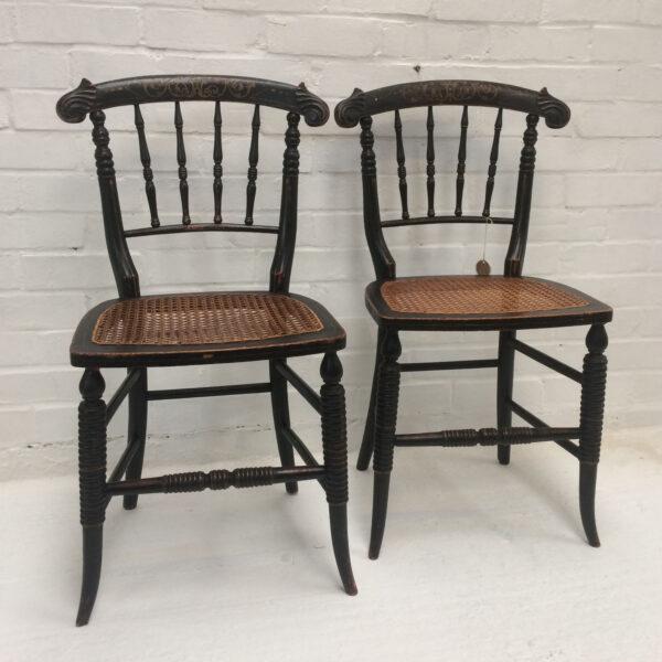 Pair William IV Chairs